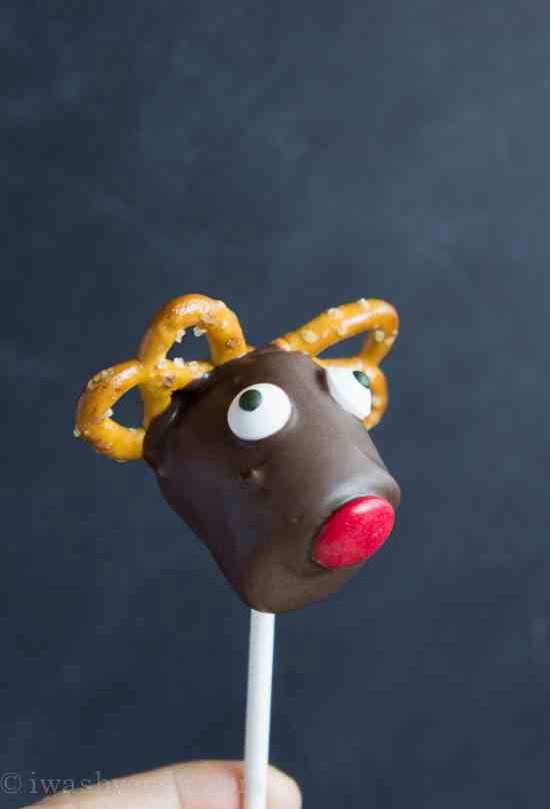 Isn't that just the cutest and tastiest little Reindeer Marshmallow Pop you've ever seen?!?!