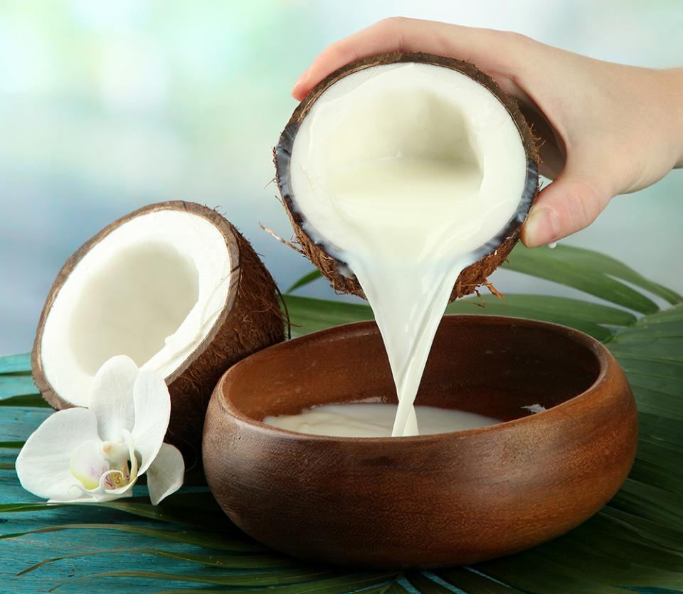 Coconut Milk Benefits  I'm pretty sure that you already know about how beneficial Coconut Oil is for the skin, but today we are going to talk about the benefits of its milk! Coconuts are rich in Vitamins E, C, B1, B3, B5, and B6 as well as minerals.