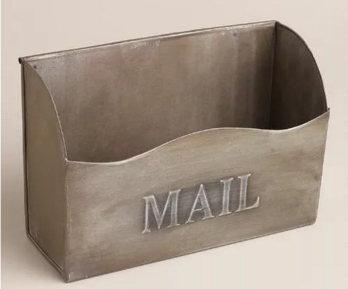 For the Mail Do you pay bills right away? If not, opt for an attractive mail holder. www.worldmarket.com