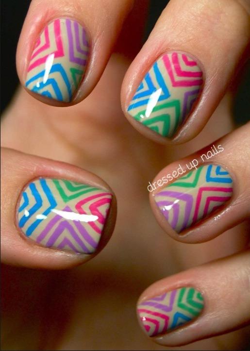 Striped Triangles
