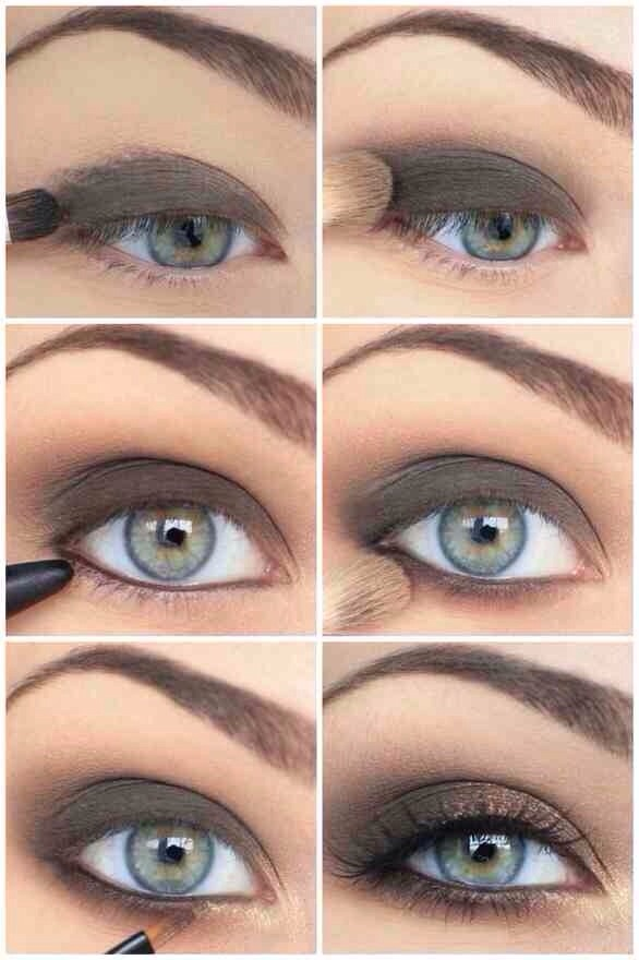This is a super quick look to achieve!! 1-Lightly Flush the eye with a dark brown or Black eyeshadow.  2-With a smaller brush (e.g: eyeliner brush) extend the colour under the bottom lash. 3-Line the inner waterline of the eye.