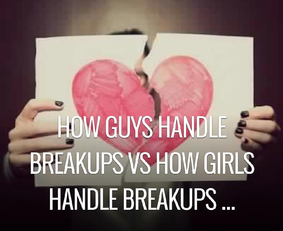how girls handle breakups