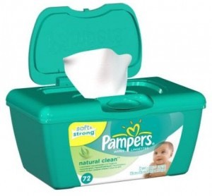 Baby wipes If you get a sun burn, be sure to gently dap a wipe on the area.