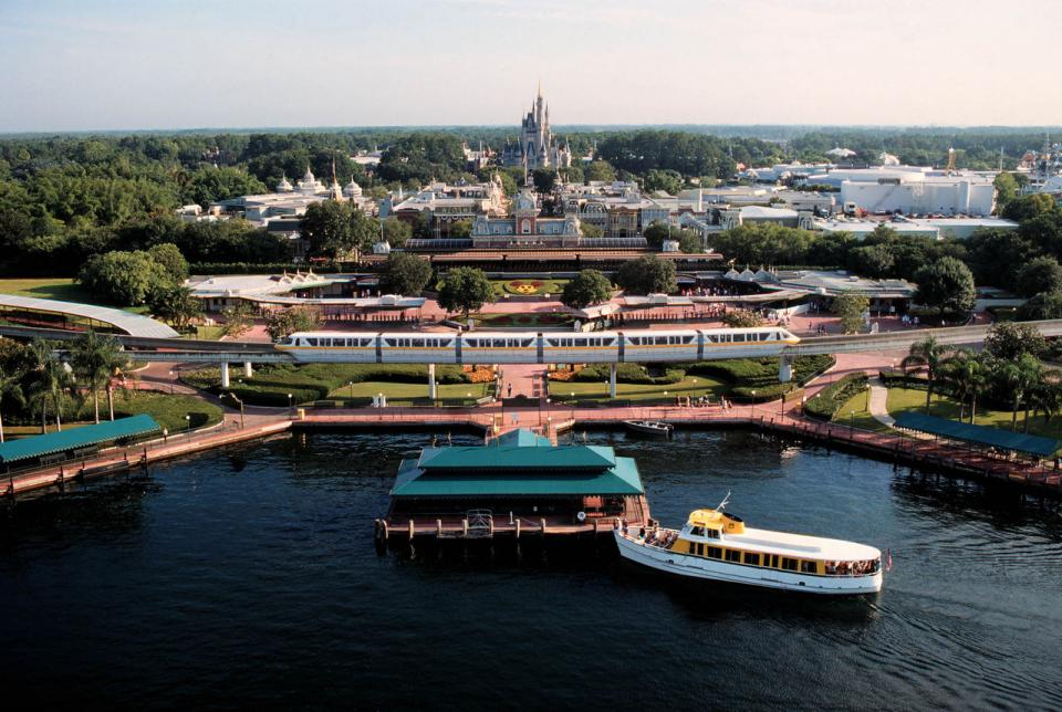 Take a Monorail or Ferry Ride: From the monorail, you can experience fantastic views inside Epcot and the Magic Kingdom, not to mention the thrill of actually driving through a hotel.