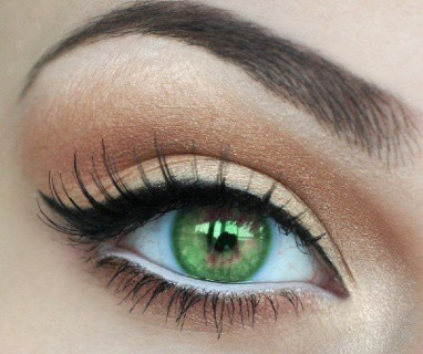 Green eyes🍀 People with green eyes are curious about nature, very passionate in their relationships with other people and have an overall positive and creative outlook on life. These people tend to get jealous easily, but possess large amounts of love.