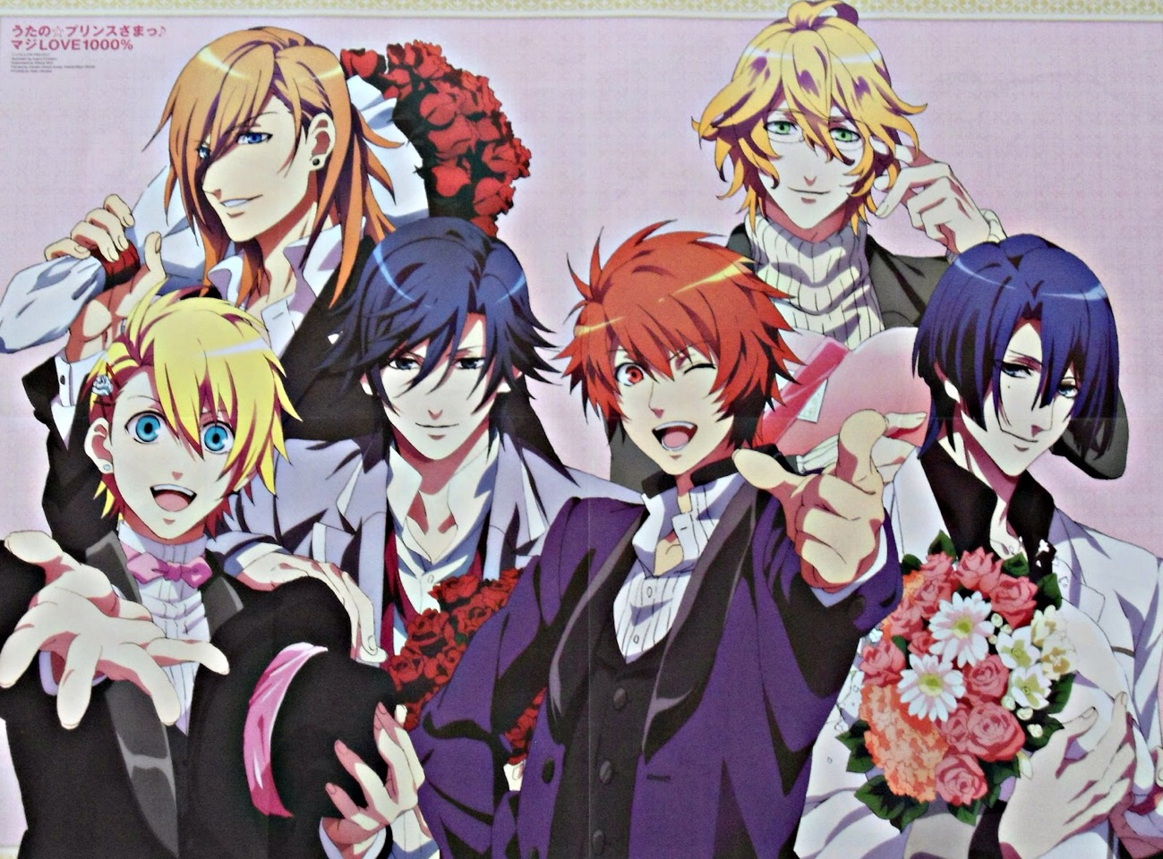 Uta No Prince Sama is really great! There is no English dubbed but there is subbed and I didn't mind a bit. It's a great story and has loveable characters.