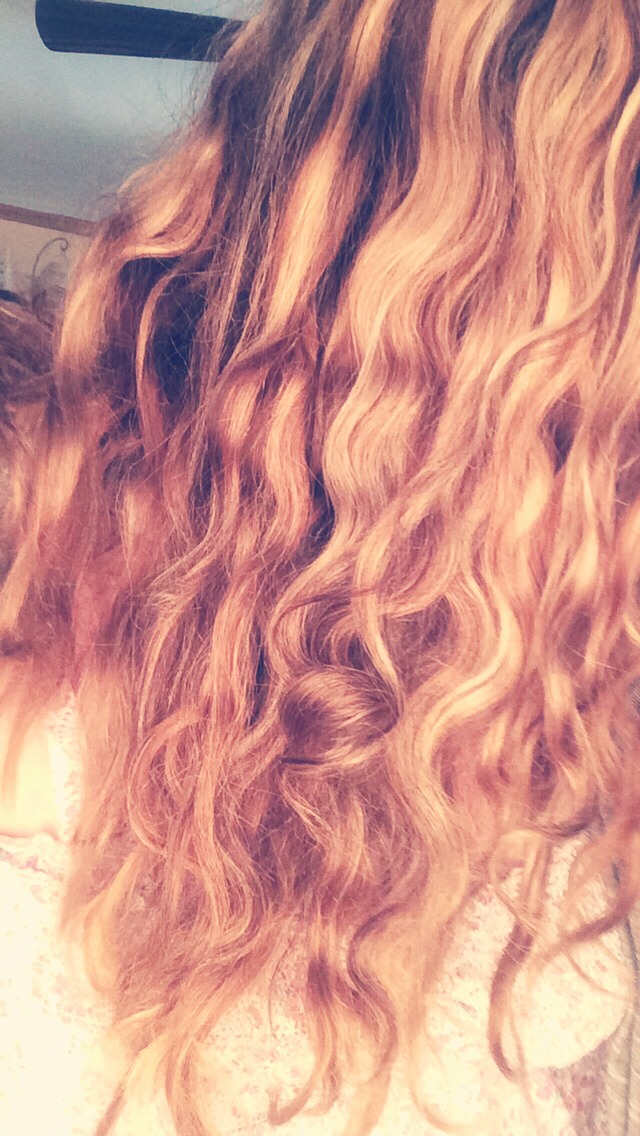 *not a best picture of my hair*