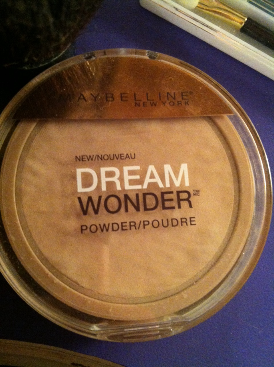 Continue the past steps until invisible the pat on powder to make it seem more natural and blended.