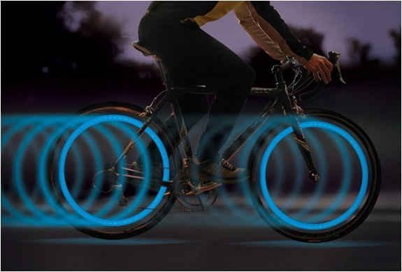 17. Bike Tire Lights