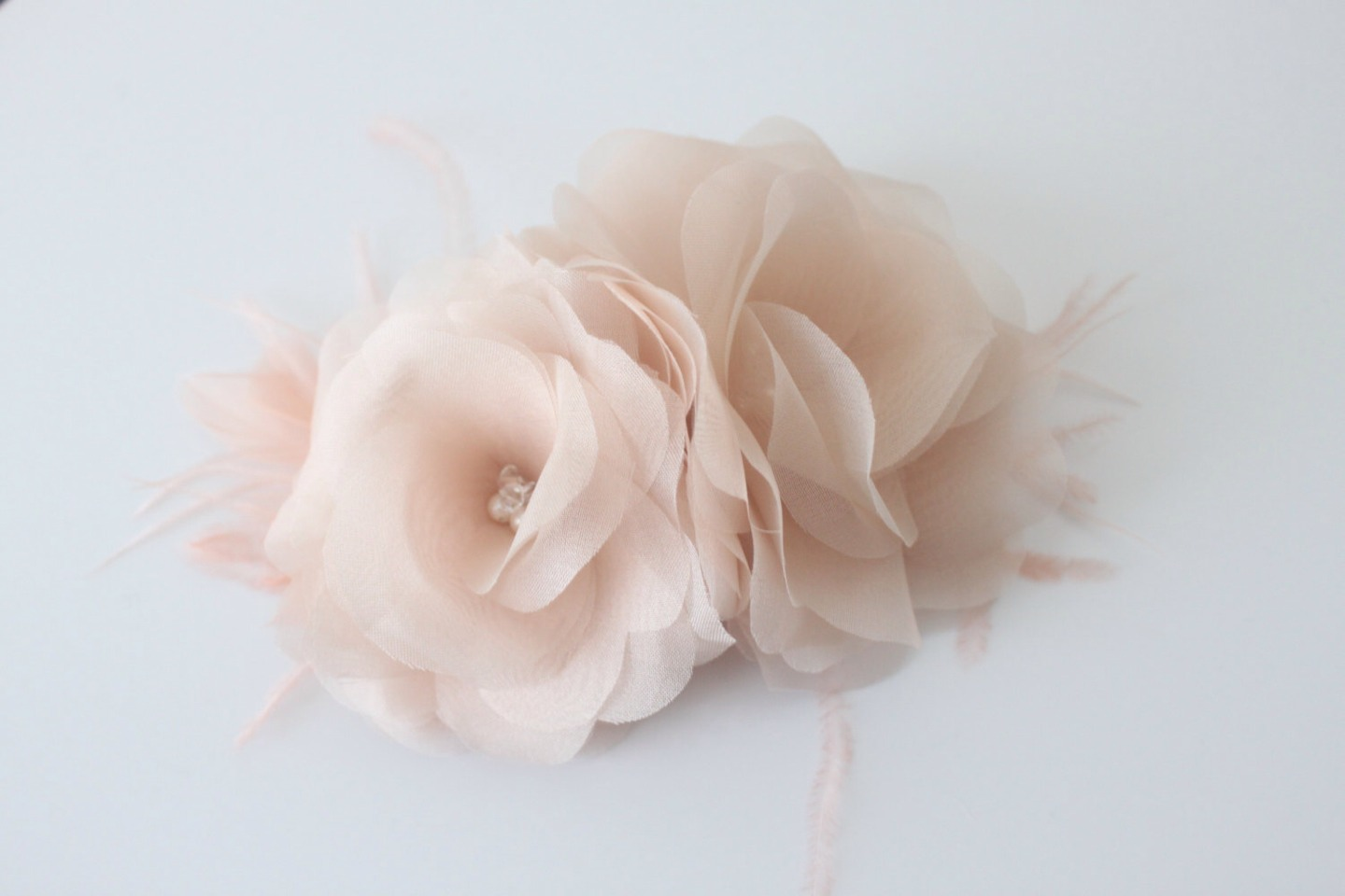 This would look great in your hair for this type of dress and it would match it perfectly