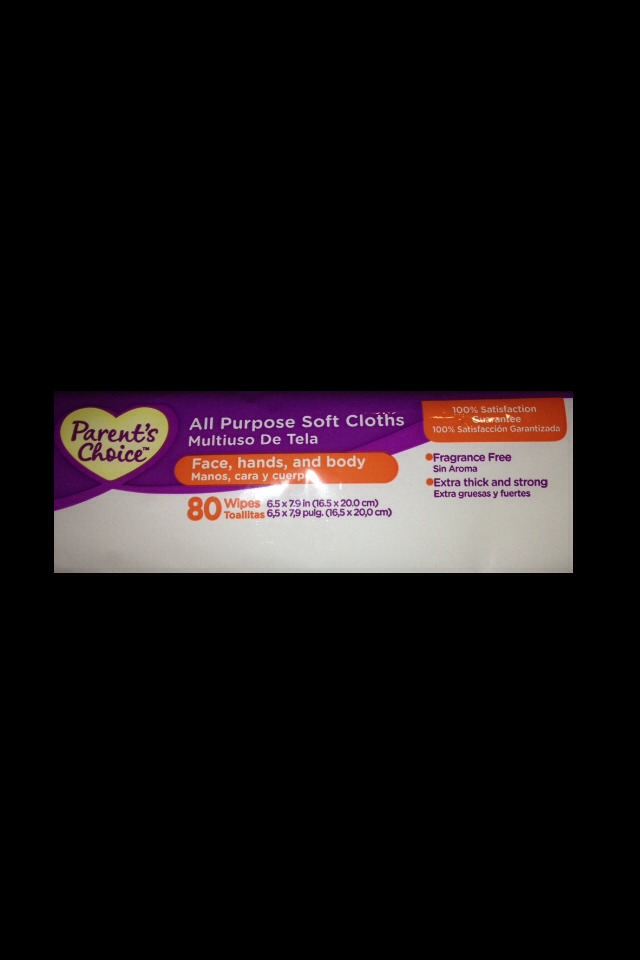 Fragrance free baby wipes as a cheaper replacement for makeup remover wipes.