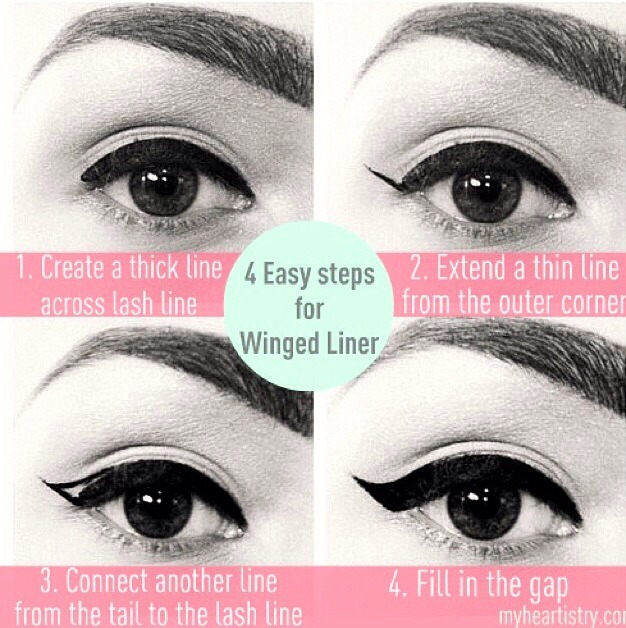 You can also use tape when you want to create the perfect eyeliner look because it's a cleaner look and also easier if your a beginner with eyeliner(just make sure the tape is even for both sides)😊😍👀