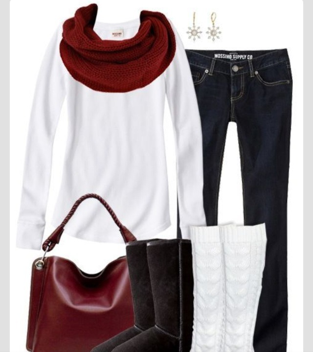 Just because its cold doesn't mean you can't look cute!! Here's a cute winter outfit!  Please like 👍👍💗💕
