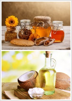 INSTRUCTIONS |Mix your raw honey + coconut oil together until you have a sticky (well-mixed) texture. It may seem thick at first, but the honey + coconut oil will actually warm up + soften on your face, so be prepared for a for drips!  Keep the mask on for about 15-20 minutes + rinse with warm wate