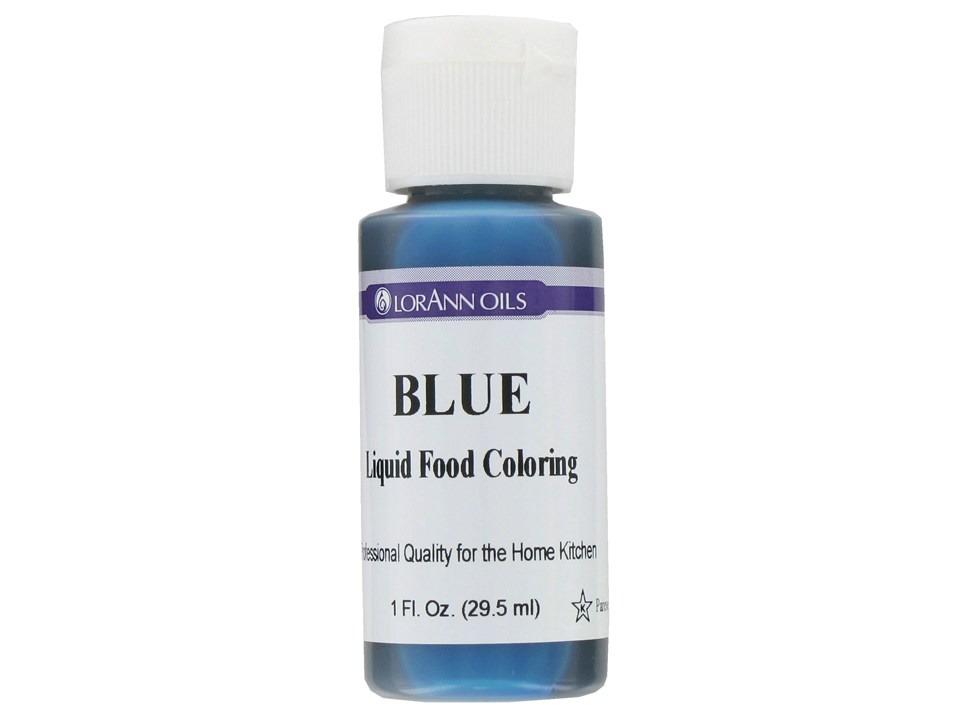 Blue food colorant