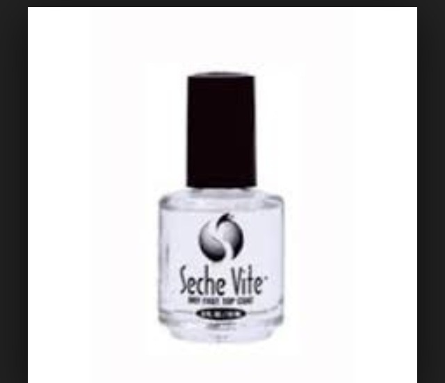 Always finish manicures with topcoats to avoid chips, and add an extra shine.