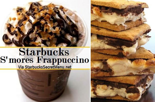 This Recipe Is For A Grande:   Java Chip Frappuccino (or double chocolate chip if preferred) 1 pump of Cinnamon Dolce syrup 1 pump of Toffee Nut syrup Whipped cream blended in Top with whipped cream and Cinnamon Dolce sprinkles