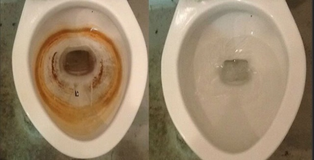 How To Clean Badly Stained And Scaled Toilets Don T