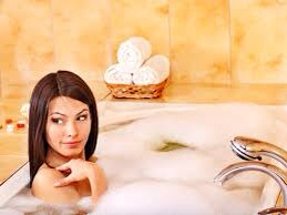 To a warm bath :)