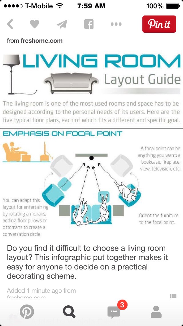Musely for Living room layout guide