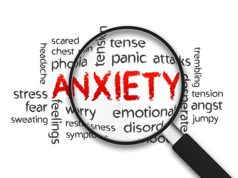 Anxiety hides but it is very common and different for everyone.