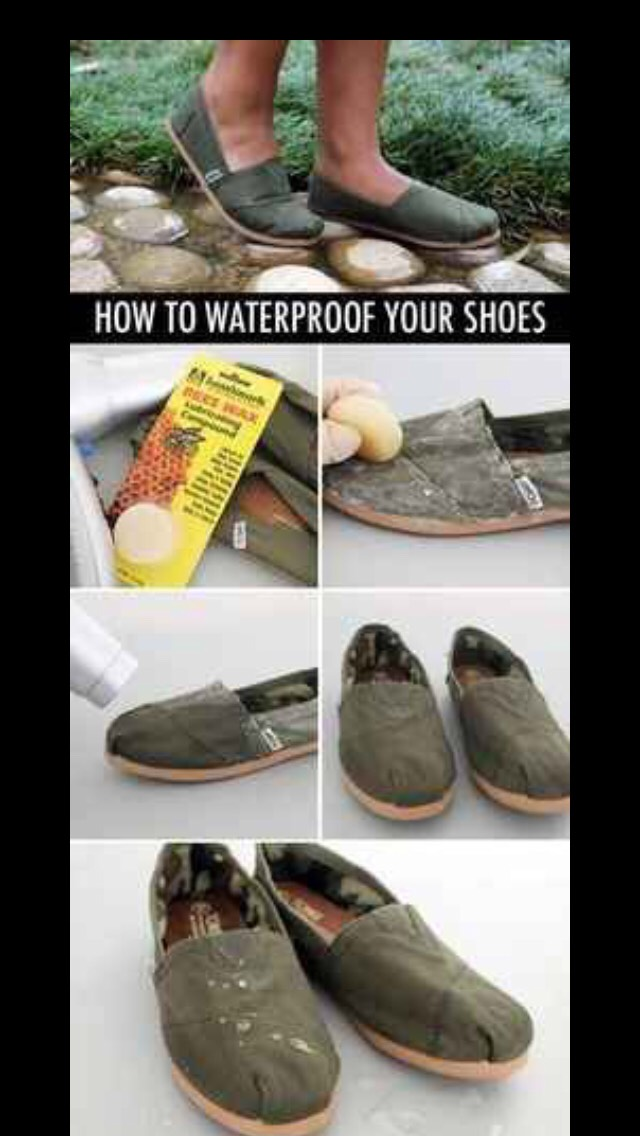 A great way to prevent your shoes from getting ruined!