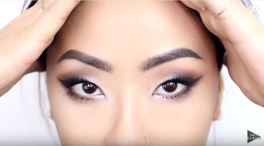 For makeup fans with monolids, a lot of tutorials leave us confused - where do we put eyeshadow? Claire Marshall's tutorial will tell you all you need to know!