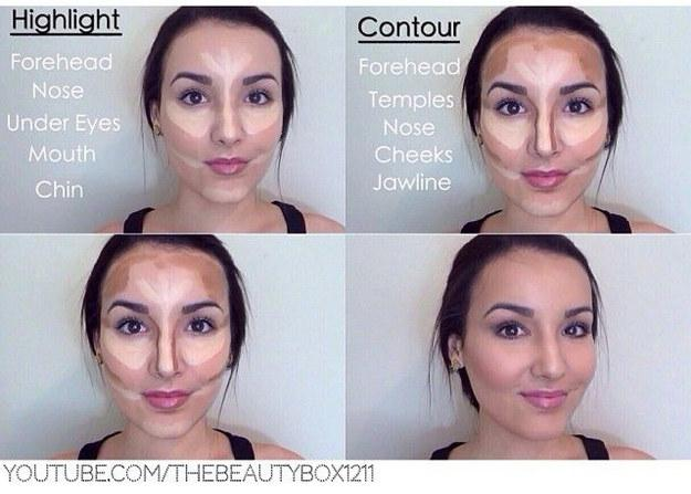 8. Contouring: not just for celebrities. Contouring will change your life (or at least your photogenic-ness), and it can be done in five minutes or less.