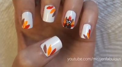 Musely this one is part of the thanksgiving nail designs prinsesfo Image collections