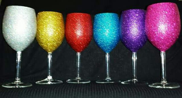 wine glasses to match your bottles.