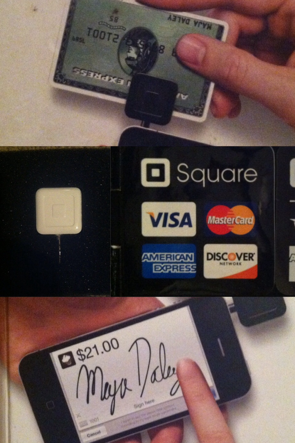 Business owner or selling things..get a square card for people who dont have cash on them and only debt or credit card. Comes in handle especially yard sell..