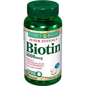 *If you break out taking biotin do not use on your scalp .  Break 2 Capsules- 3-4 more if hair is longer