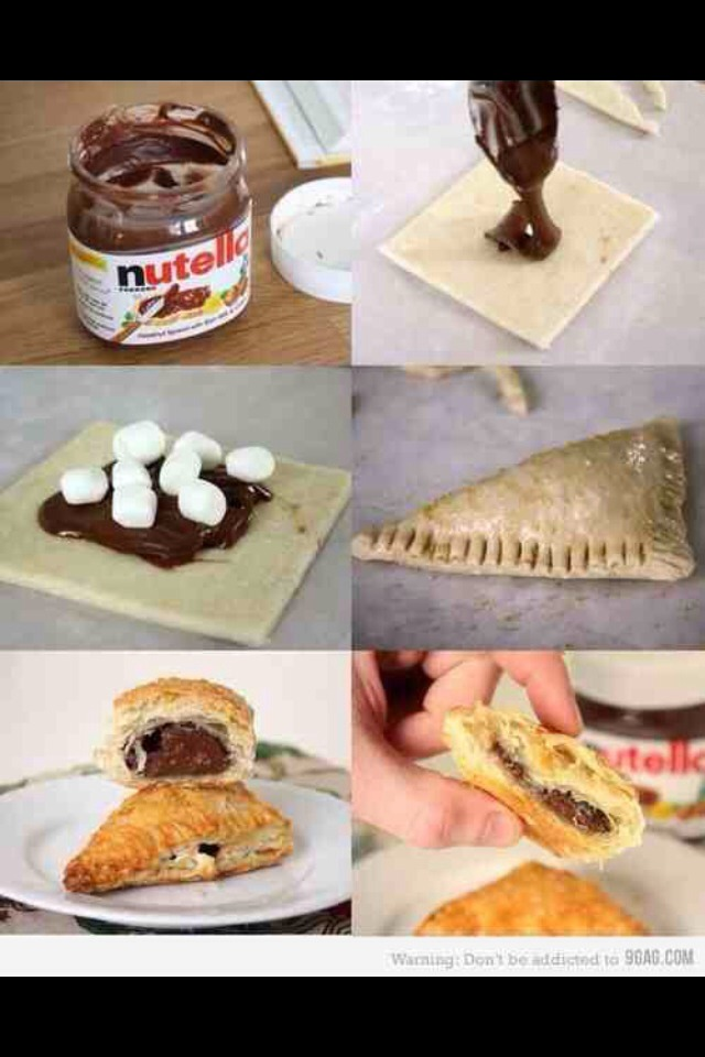 Not too hard. Nutella bake.