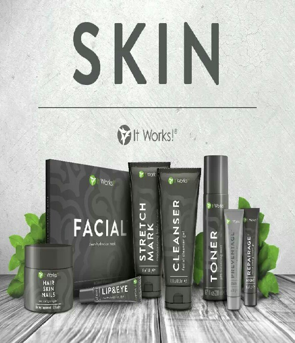 IT WORKS is more then them crazy wraps. try our great skin line