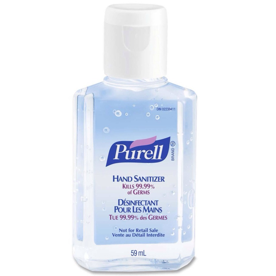 5. Hand sanitizer is a quick easy fix. Pour it into the palm of your hand and then use finger tips to rub through greasy roots. The alcohol will dry up excess oil and the product vapourises fast so no need to rinse and no smell.