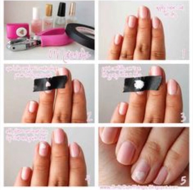 Hole punch nails  Quick and awesome idea to have a perfect shape on your nails !