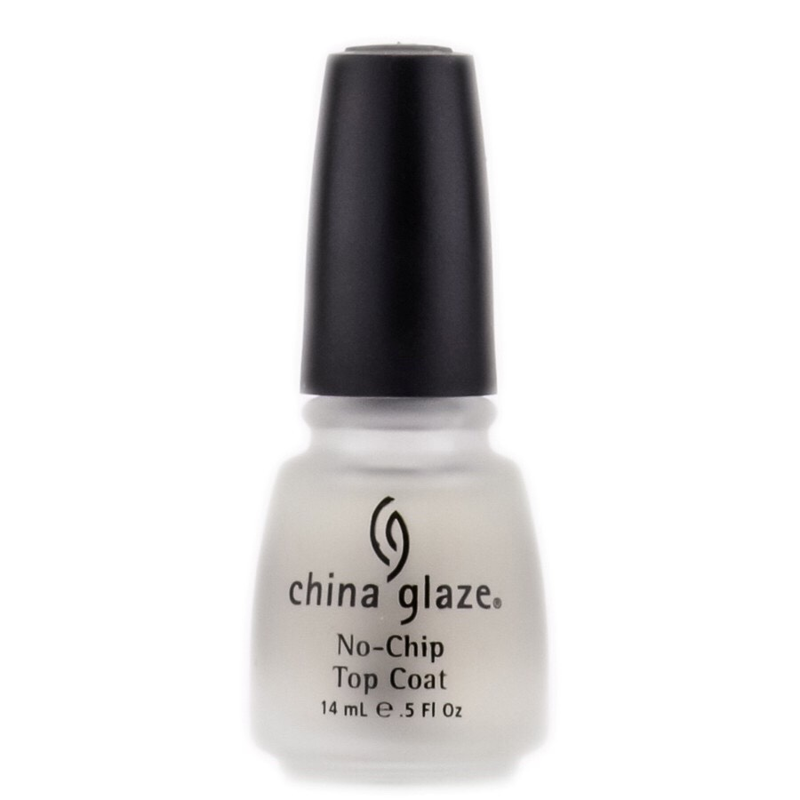 Apply top coat on nails then quickly wipe it off. Keeping applying until the rest of the nail polish comes off