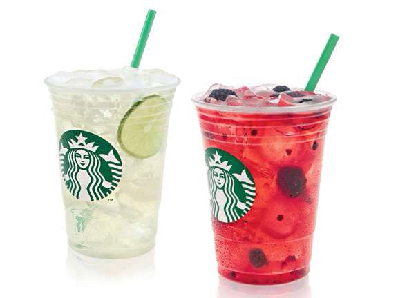 Cool Lime (left) & Very Berry Hibiscus (right)