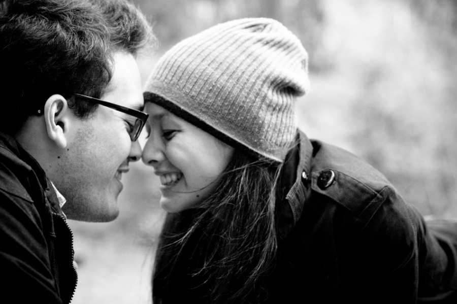 Couples laugh talk get to know your soulmate and be honest with each other the relationship will work out if both people are being honest and truthful.