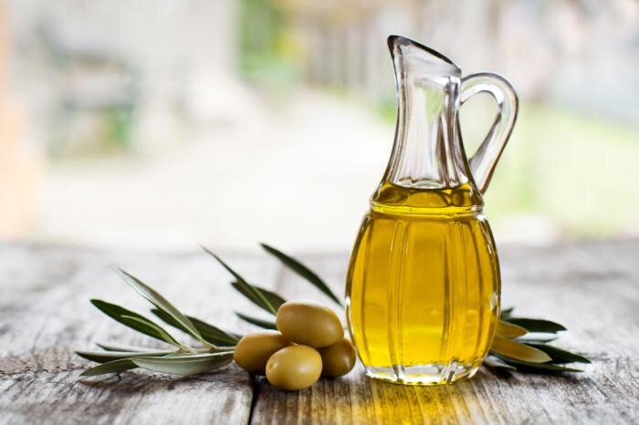 Last you are going to need olive oil