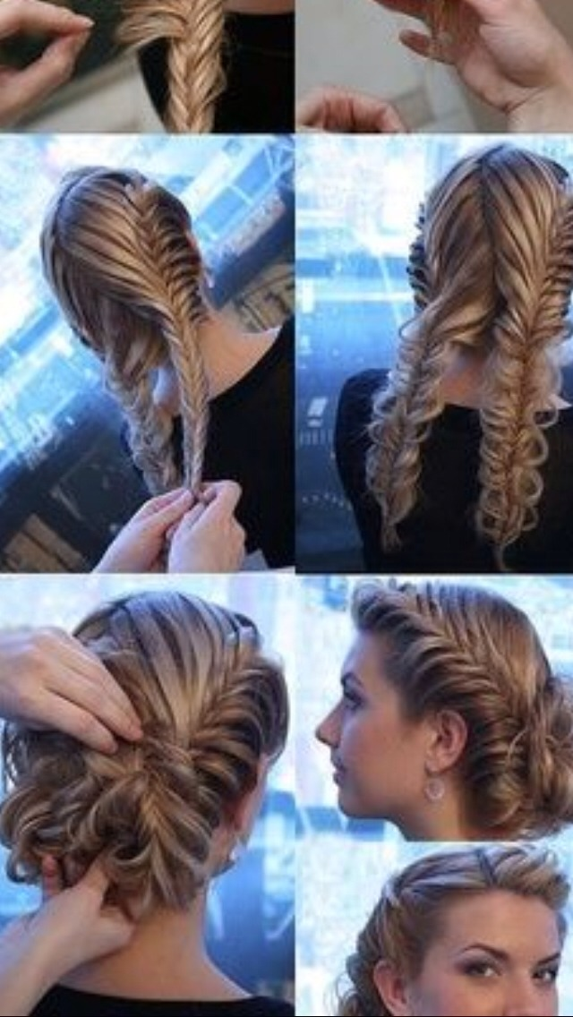Take braids, fold them, and create a bun. Pin in place. Enjoy your beautiful hair!!!! Please try it out and tell me how it goes!!!!