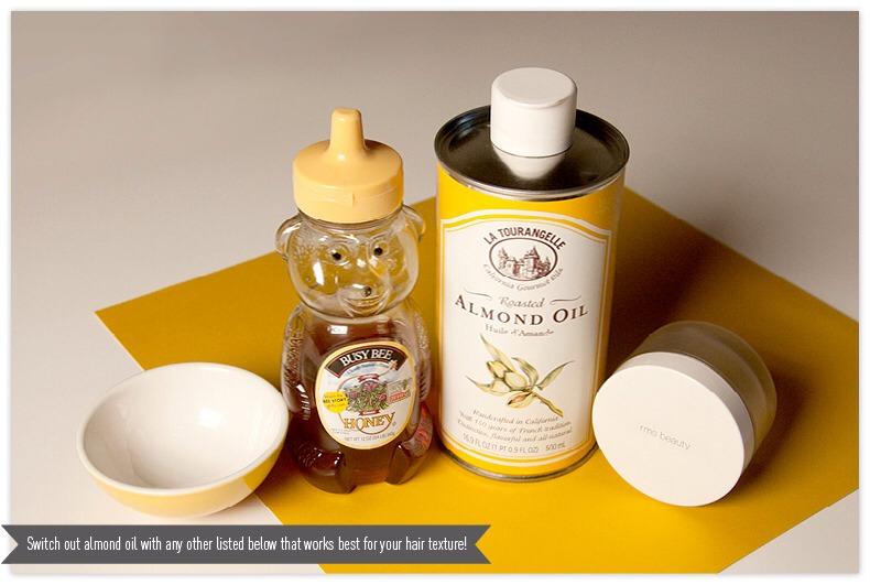 You Will Need • 1–2 teaspoons virgin coconut oil (for really short hair, do half a teaspoon) • 1 teaspoon honey
