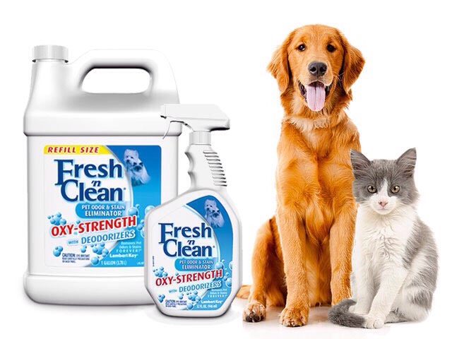 Fresh n clean helps neutralize odors from pets