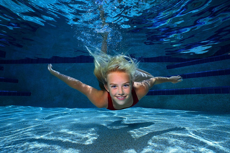 What is this magical weight loss secret? SWIMMING!