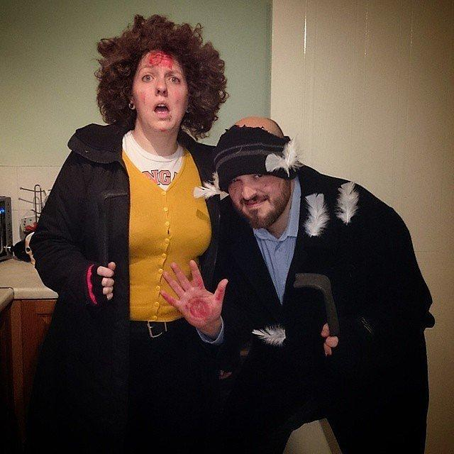 Marv and Harry From Home Alone