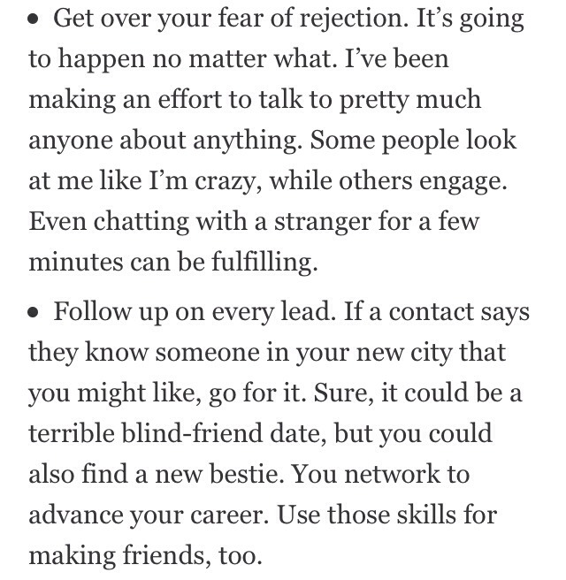 how to make friends in a new city reddit