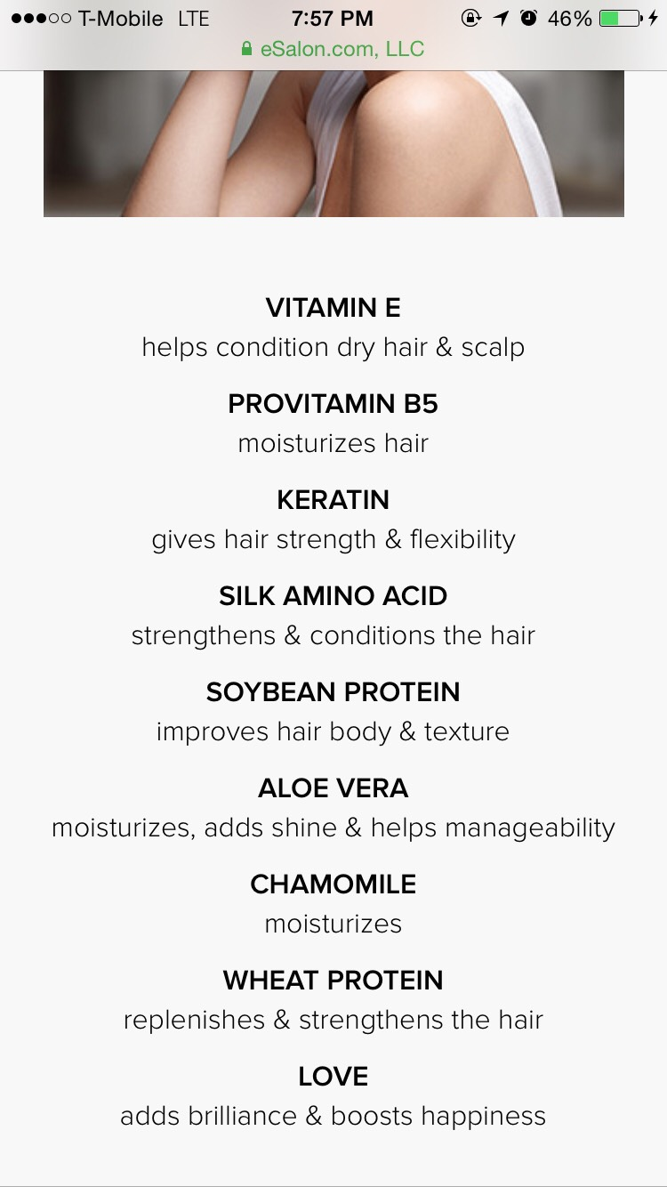 This is what is in their dye. I've used box dye before and it left my hair super dry and super super hard to detangle but Its been 2 weeks since I dyed (and using the shampoo and conditioner they gave me in the box) MY HAIR DETANGLES SO EASILY AND FAST! No sore scalp.