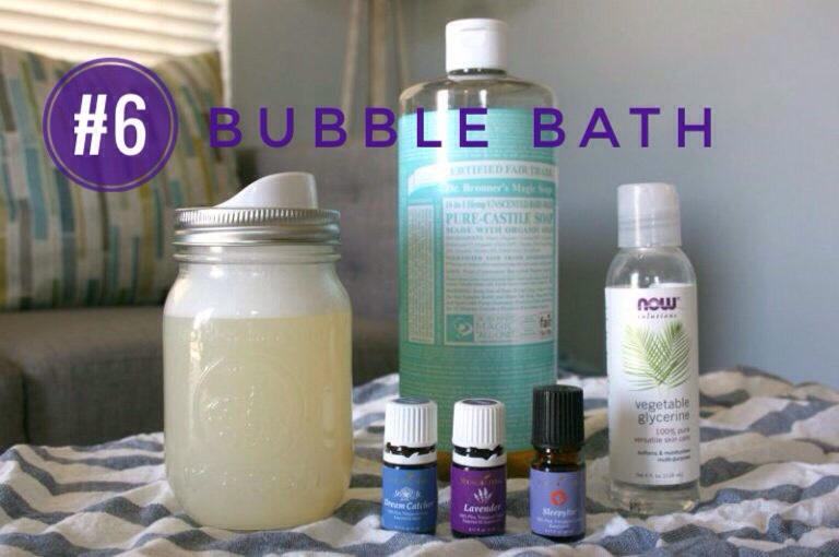INGREDIENTS   (+) 1 cup liquid unscented castile soap (+) 1/4 cup vegetable glycerin (+) 1 tsp aloe vera juice (optional) (+)10 drops essential oil (I like to use Lavender or Gentle Baby)  INSTRUCTIONS   (1)In a pint-sized pump bottle, add castile soap, vegetable glycerin, essential oils + aloe vera juice.(2)Replace lid securely +shake vigorously for a few seconds. (3)Use as needed.