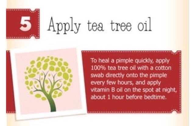 Apply some amounts of natural tea tree oil within reason.