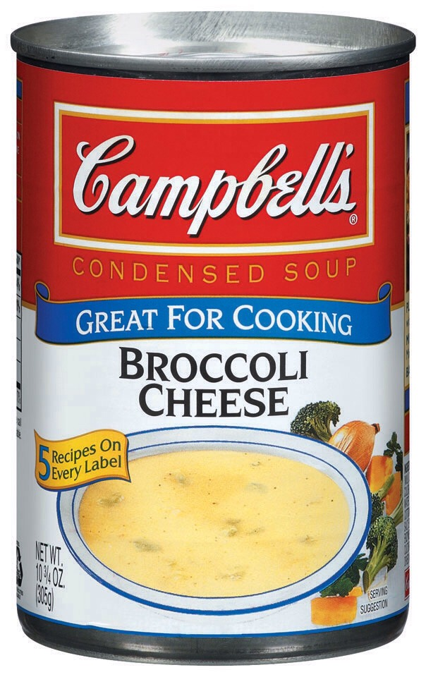 If available in your locale grocery store, Use the 1/2 Fat or low fat cream of broccoli soup